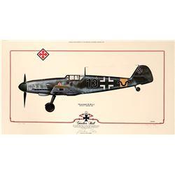 Gunther Rall BF 109 G2  (108972)