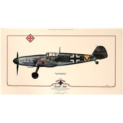 Gunther Rall BF 109 G2  (108972)