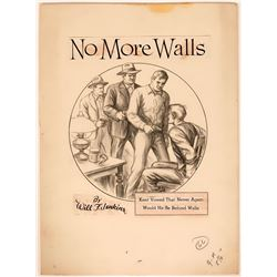 """No More Walls"" Illustration  (110436)"