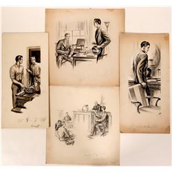 Stories w/ Men Illustrations  (110445)