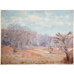 River Through Time Oil Paining by J. La Verne Lane  (79166)