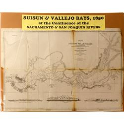 Suisun & Vallejo Bays Map  (59320)