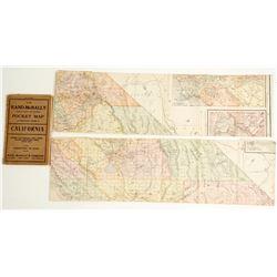 Rand McNally California Pocket Maps  (64328)