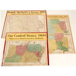 Maps of the Mississippi Valley Area (3)  (63204)