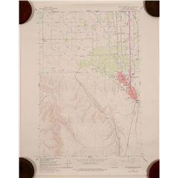 Map of Oregon (Topographic)  (91366)
