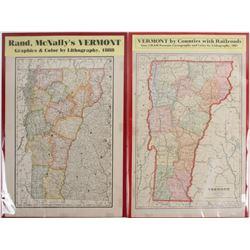Maps of Vermont (2)  (63547)