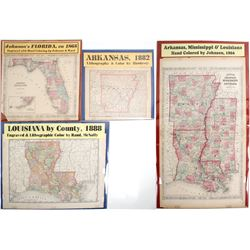 Maps of the Southeast (4)  (63551)