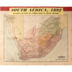 Map of South Africa  (59624)