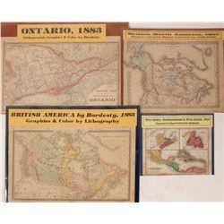 Western Hemisphere Maps (4)  (63219)