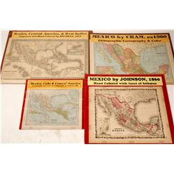 Maps of Mexico and Central America (4)  (63210)