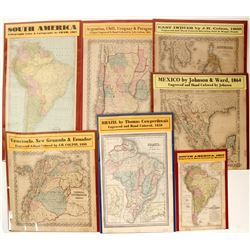 Mexico & South America Maps (7)  (62066)