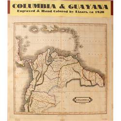 Map of Columbia & Guayana  (59639)