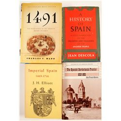 History of Spain, Misc. Books (4)  (63460)
