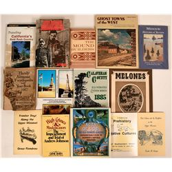 Books About California Motherlode and Misc. History  (113063)