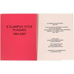 E Clampus Vitus catalog of Plaques  (116735)