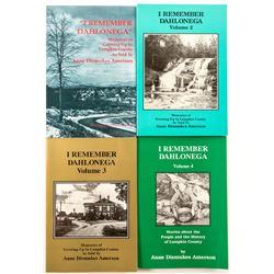 Dahlonega, GA History Books (4)  (58638)