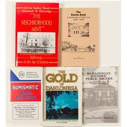 Dahlonega, Georgia History Books (5)  (58651)