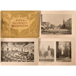 Washington D.C. White House Pictorial Book from 1896  (117480)