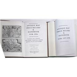 Antique Map Price Record Books (2 count)  (63327)