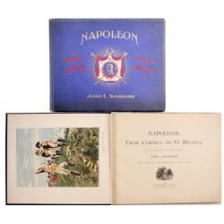 Napoleon, From Corsica to St. Helena by Stoddard  (86241)