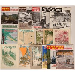 Pacific Northwest Logging & Railway Publications  (19)  (119596)