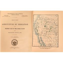 Report on Agriculture by Irrigation in the Western Part of the United States  (119496)