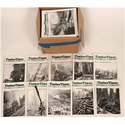 Timber Times Logging & Lumber History & Modeling Magazine (59 Issues)  (119578)