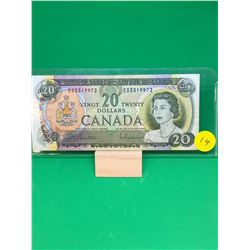 1969 BANK OF CANADA $20 NOTE.