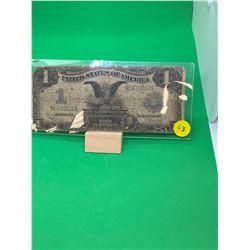 1899 USA $1 SILVER CERTIFICATE(BLACK EAGLE) NOTE