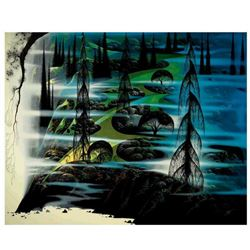 """Eyvind Earle (1916-2000), """"Beauty Beyond Believing"""" Limited Edition Serigraph on Paper; Numbered & H"""