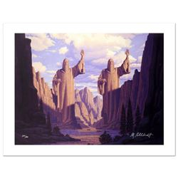 """""""The Pillars Of The Kings"""" Limited Edition Giclee on Canvas by The Brothers Hildebrandt. Numbered an"""