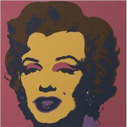 "Andy Warhol- Silk Screen ""Marilyn Monroe 11.27"""