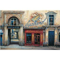 """Alexander Borewko- Original Giclee on Canvas """"Galerie"""""""