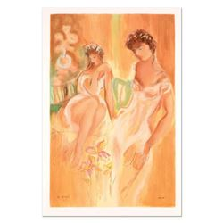 """Batia Magal, """"Sister"""" Limited Edition Serigraph, Numbered and Hand Signed with Certificate of Authen"""