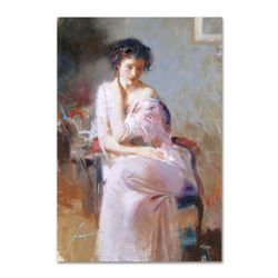 """Pino (1939-2010), """"Sublime Beauty"""" Artist Embellished Limited Edition on Canvas, AP Numbered and Han"""