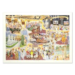 """George Crionas (1925-2004), """"Caesar's Fantasy"""" Limited Edition Lithograph, Numbered and Hand Hand Si"""