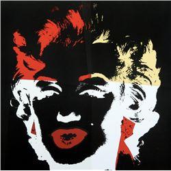 """Andy Warhol- Silk Screen """"Golden Marilyn 11.39"""""""