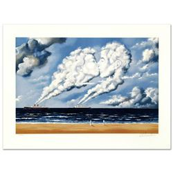"""""""Charismatic Impulse"""" Limited Edition Hand Pulled Original Lithograph by Rafal Olbinski, Numbered an"""