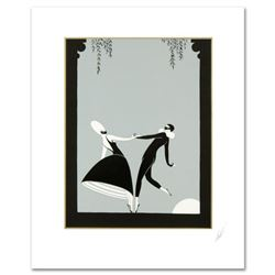 "Erte (1892-1990), ""Pas de Deux"" Limited Edition Serigraph, Numbered and Hand Signed with Certificate"