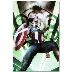 "Marvel Comics ""Captain America: Hail Hydra #1"" Numbered Limited Edition Giclee on Canvas by Adi Gran"