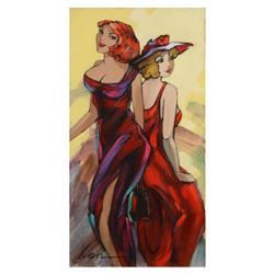 Elena Kanevsky, Original Oil Painting on Canvas, Hand Signed with Letter of Authenticity.