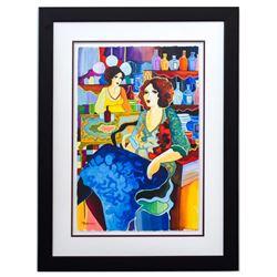 "Patricia Govezensky- Original Watercolor ""Melina House"""