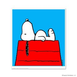 """Peanuts, """"Take A Moment"""" Hand Numbered Limited Edition Fine Art Print with Certificate of Authentici"""
