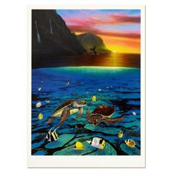 """Wyland, """"Ancient Mariner"""" Limited Edition Lithograph, Numbered and Hand Signed with Certificate of A"""