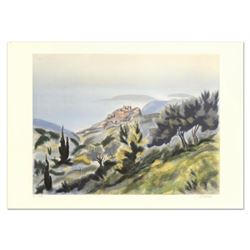 """Victor Zarou, """"Montpellier"""" Limited Edition Lithograph, Numbered and Hand Signed."""