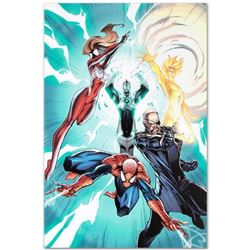 "Marvel Comics ""Ultimate Mystery #1"" Numbered Limited Edition Giclee on Canvas by J. Scott Campbell w"