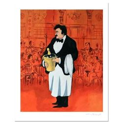 "Guy Buffet, ""Grand Cafe"" Limited Edition Serigraph; Numbered and Hand Signed with Certificate of Aut"