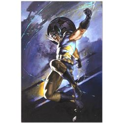 "Marvel Comics ""Uncanny X-Men #539"" Numbered Limited Edition Giclee on Canvas by Simone Bianchi with"