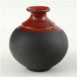 Eugenijus Tamosiunas - Hand Made Ceramic Vase, Hand Signed.