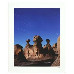"Robert Sheer, ""Aliens in Goblin Valley Sign"" Limited Edition Single Exposure Photograph, Numbered an"